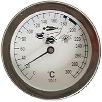 Karl Koch Thermometerfabrik GmbH 92200 - Termómetro para freidora, color plateado
