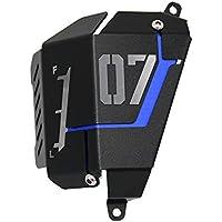 Carrfan MT07 FZ07 Cubierta Protectora del Tanque de Recuperación de refrigerante para Yamaha MT-07 FZ-07 2014-2019