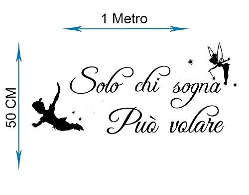 Adesivi Murali Peter Pan.Adesivi Sticker Peter Pan Da Muro Grandi Sconti Adesivi Murali