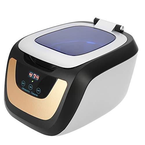 Pulitore ad ultrasuoni, macchina di pulizia multiuso 750ML con timer digitale per gioielli, orologio, occhiali Sonic Wave Manicure Nail Tattoo strumento di lavaggio del metallo