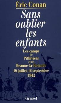 Sans oublier les enfants (Documents Français) par [Conan, Eric]