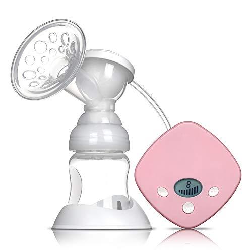Good store UK Tire-lait Tire-lait électrique Anti-retour Affichage LED Augmente le coussin mammaire en silicone 8 fichiers réglables