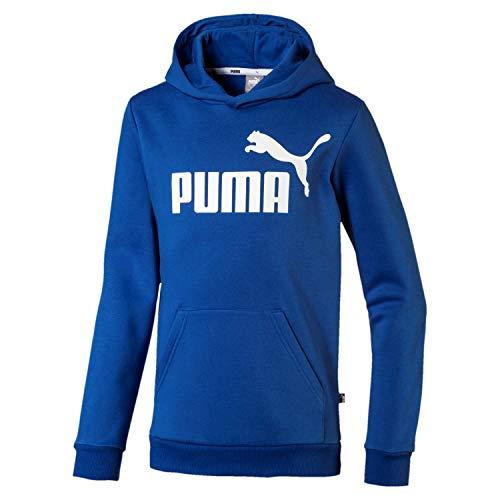Puma Jungen ESS Logo Hoody FL B Pullover, Galaxy Blue, 164