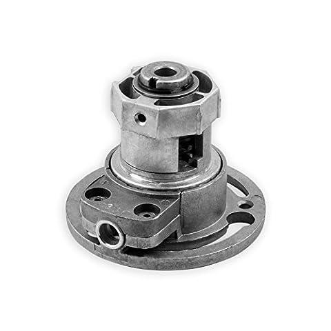 DIWARO® K001 Rolladengetriebe | Untersetzung 3:1 | für rechts & links | Antrieb 6mm Innenvierkant | Kurbelgetriebe, Kegelradgetriebe für SW 40 achtkant Stahlwelle im Rolladenkasten