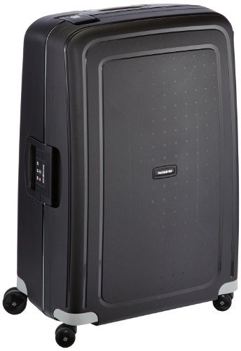 Samsonite S'Cure Spinner Suitcase, 75 cm, 102 L, Schwarz