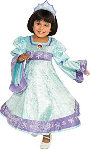 Rubies Disfraz de Dora la Exploradora Princesa de la Nieve para niña