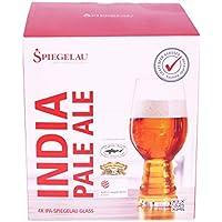 Spiegelau IPA Craft vasos de cerveza 19 oz/540 ml 4 - juego de - diseño de jarra de cerveza Classics mielgas IPA Head Protector de pantalla de cristal