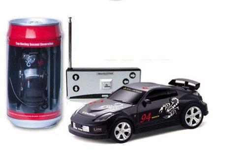 1:58 Coke Can Mini RC Radio Remote Control Micro Racing Car - Remote Radio Control