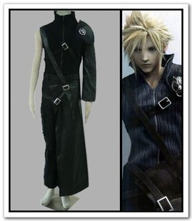 Sunkee Final Fantasy VII Cosplay Cloud Strife Kostüm, -