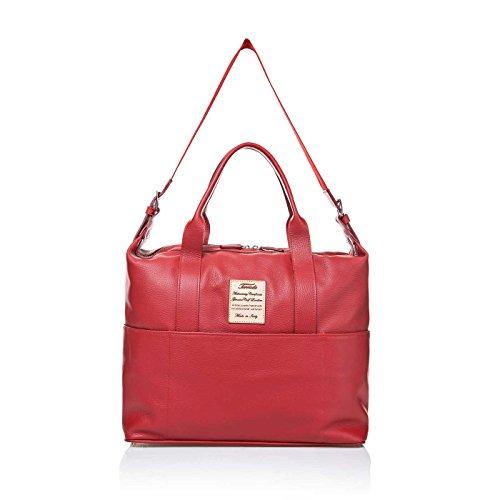 Terrida Marco Polo borsa da viaggio - LE310 (Nero) Rosso