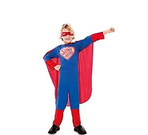 Fyasa 872829-c02Super Hero disfraz, tamaño mediano