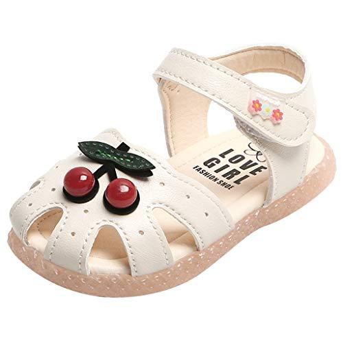 Niedlich Kind Baby Säugling Junge Mädchen weiche Sohle Kleinkind Schuhe Sneak,Kleinkind Kleinkind Kinder Baby kleine Mädchen Kirsche Prinzessin Closed Toe Schuhe Sandalen -