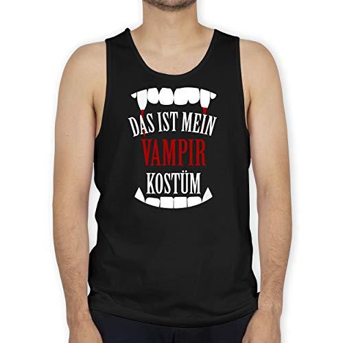 Shirtracer Halloween - Das ist Mein Vampir Kostüm - L - Schwarz - BCTM072 - Tanktop Herren und Tank-Top Männer