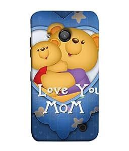 PrintVisa Designer Back Case Cover for Microsoft Lumia 550 (Teddy bears Funny toys)