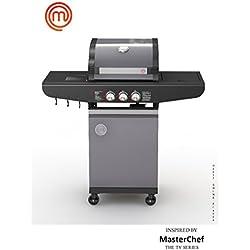 MasterChef - MasterChef - Barbecue à gaz 2 brûleurs