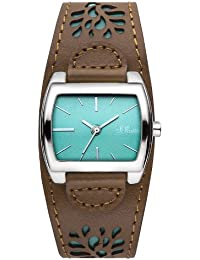 s.Oliver Damen-Armbanduhr Analog Quarz SO-2877-LQ