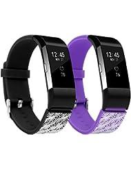 Ersatz Fitbit Charge 2 Armbänd In Packungen, BeneStellar Ersatz Klassisch Armband für Fitbit Charge 2