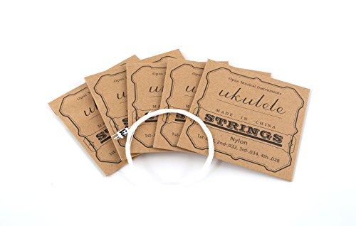 xdlee Carbon Nylon Konzert-Ukulele strings-high G für 58,4cm Ukulele 5 set