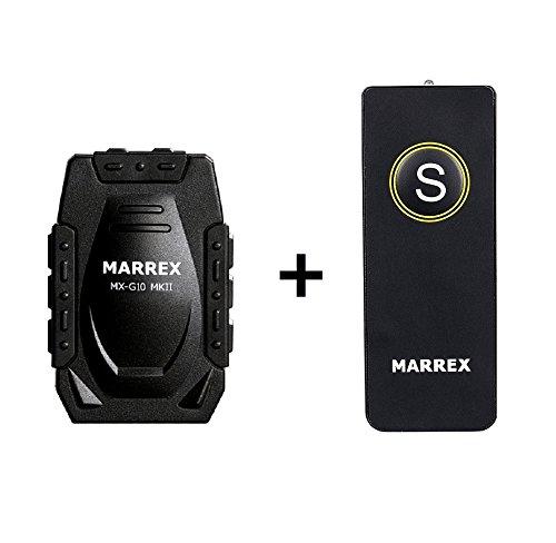 Set–Marrex MX-G10MKII ricevitore GPS/Logger con Universal IR di scatto–per Canon 1DX, 1DC, 5Ds, 5Ds R, 5DMark III, 6d, 7d, 70d, 80d, 100d, 650d, 700d, 750d, 760d, 1100d, EOS M, EOS M2