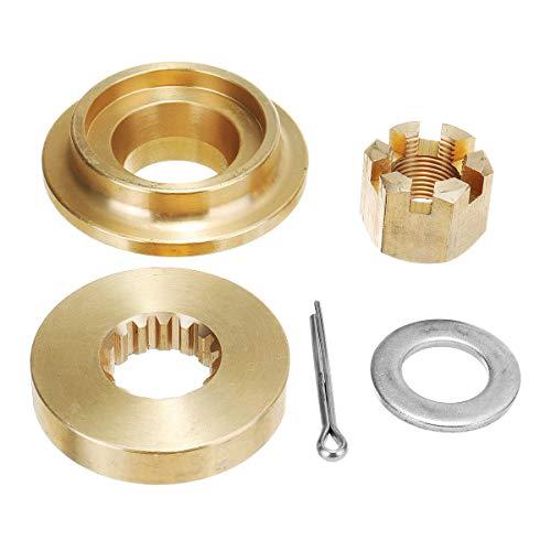 Wooya Propeller Hardware Kits Thrust Washer Spacer Nut Cotton Pin for Suzuki Df140Hp -