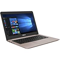 Asus Zenbook UX310UA-FC755T 33,7cm (13,3 Zoll mattes FHD) Notebook (Intel Core i5-7200U, 8GB RAM, 256GB SSD, Intel HD Graphics, Win10 Home) rose gold