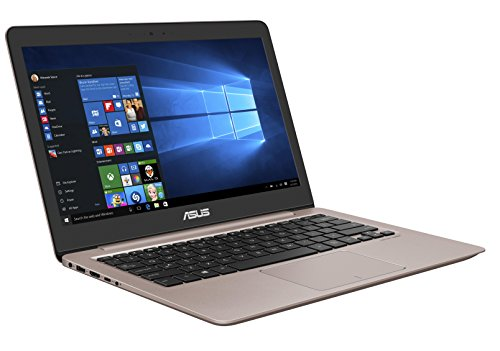 Asus Zenbook UX310UA-FC755T 33,7cm (13,3 Zoll mattes FHD) Notebook (Intel Core i5-7200U, 8GB RAM, 256GB SSD, Intel HD Graphics, Win10) rose gold