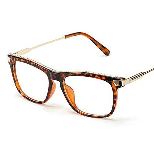 GBST Fashion Heart Sunglasses Women Meatl Hinge Love Shape Round Sun Glasses Men Vintage Couple Eyeglasses Pink Yellow,Leopard