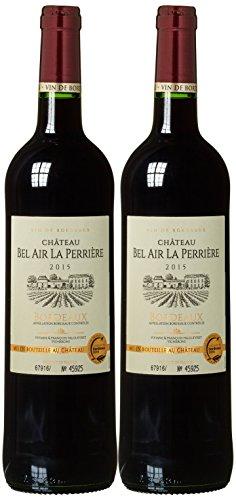 Weinset Chateau Bel Air la Perriere Bordeaux trocken (2 x 0.75 l)