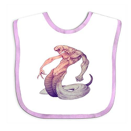 Wfispiy Baby Gifts Serpent Dragon Baby Bib for Boys, Girls Ride Beanie Boys