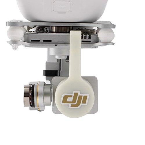 Anbee Bündel von Kohlenstofffaser Gimbal Schutz + Objektivdeckel + Gegenlichtblende für DJI Phantom 3 Quadkopter - 5