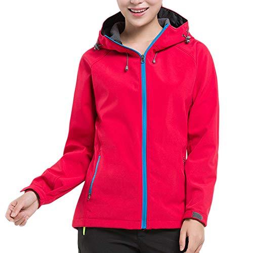 Selou warme jacke paar winter outdoor softshell kleidung lauf camping anzug mit kapuze sport...