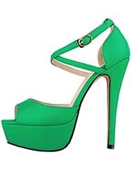 Katypeny - Zapatos de tacón  mujer