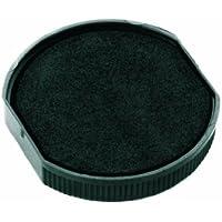 Colop ER40BK - Pack de 2 almohadillas de recambio tinta E-R40, color negro