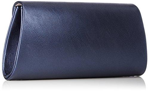 Tamaris Damen Grazia Clutch Bag, 5,5x11x24 cm Blau (Navy)