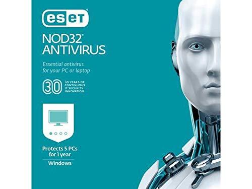 ESET NOD32 Replication 2019 - 5 Stück / 1 Jahr [Product Key Card] -