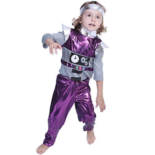 EraSpooky Kinder Space Wizard Roboter Alien künstliche Kostüm