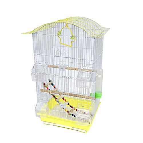 Meetshine Grande Gabbia Voliera per Pappagalli Elegante E Chic per Canarini, Cocorite E Uccelli Esotici Planeta