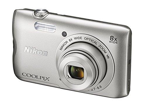 Nikon Coolpix A300 Kamera silber