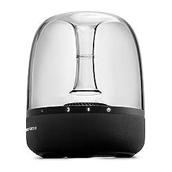 Harman Kardon - Aura Studio ( Wireless Bluetooth Home Speaker System - Black Colour) 2017 model