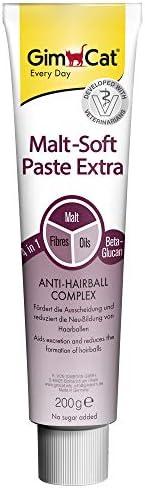 GimCat Malt-Soft Pasta Extra - Kattensnack met anti-haarbalwerking, die de uitscheiding van haarballen bevorde