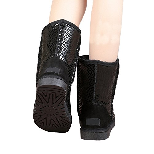 fereshte ,  Damen Chukka Boots #5 BrightBlack