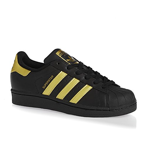 adidas SUPERSTAR J, Unisex Kids' Sneakers, Black (Negbas/Dormet/Dormet), 4 UK (36.7 EU)
