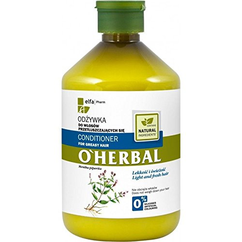 O'Herbal Acondicionador Cabello / Pelo Graso Natural