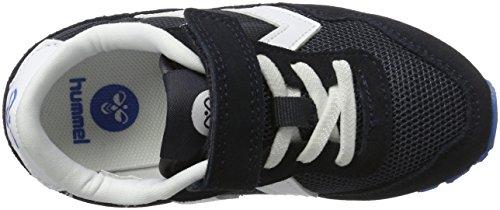 Hummel Reflex Jr, Sneakers Basses Mixte Enfant Bleu (Total Eclipse)