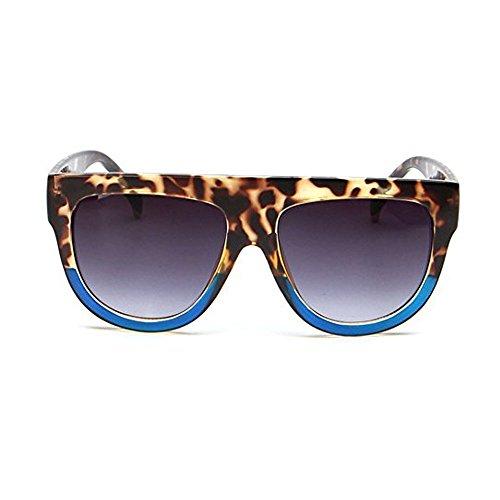 2edb8dc788 Qissy® Femmes Designer Unisex erres Teintés UV400 Classique Lunettes de  soleil en Oversize Lunettes Club