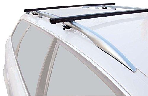 Green Valley universal Relingträger Aurilis Initial Dachträger für Fahrzeuge mit offener Reling -