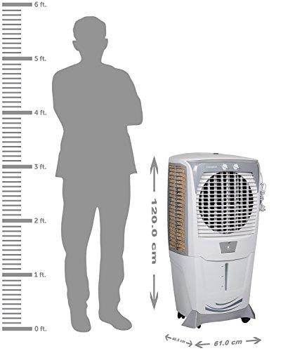 Crompton Greaves Ozone 75Ltrs Desert Air Cooler (White/Grey)