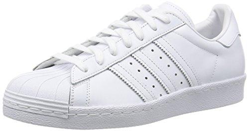 adidas Herren Superstar '80s Outdoor Fitnessschuhe, Elfenbein FTWR White/core Black, 42 2/3 EU
