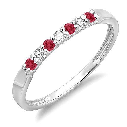 DazzlingRock Collection Mujer de rubíes y...
