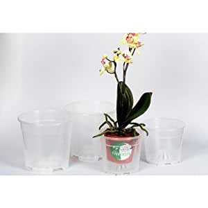 Orchideentopf 15cm transp.